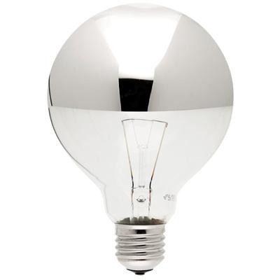 Ampoule Sphérique Calotte Argentée Filament - PERSON-Taugourdeau